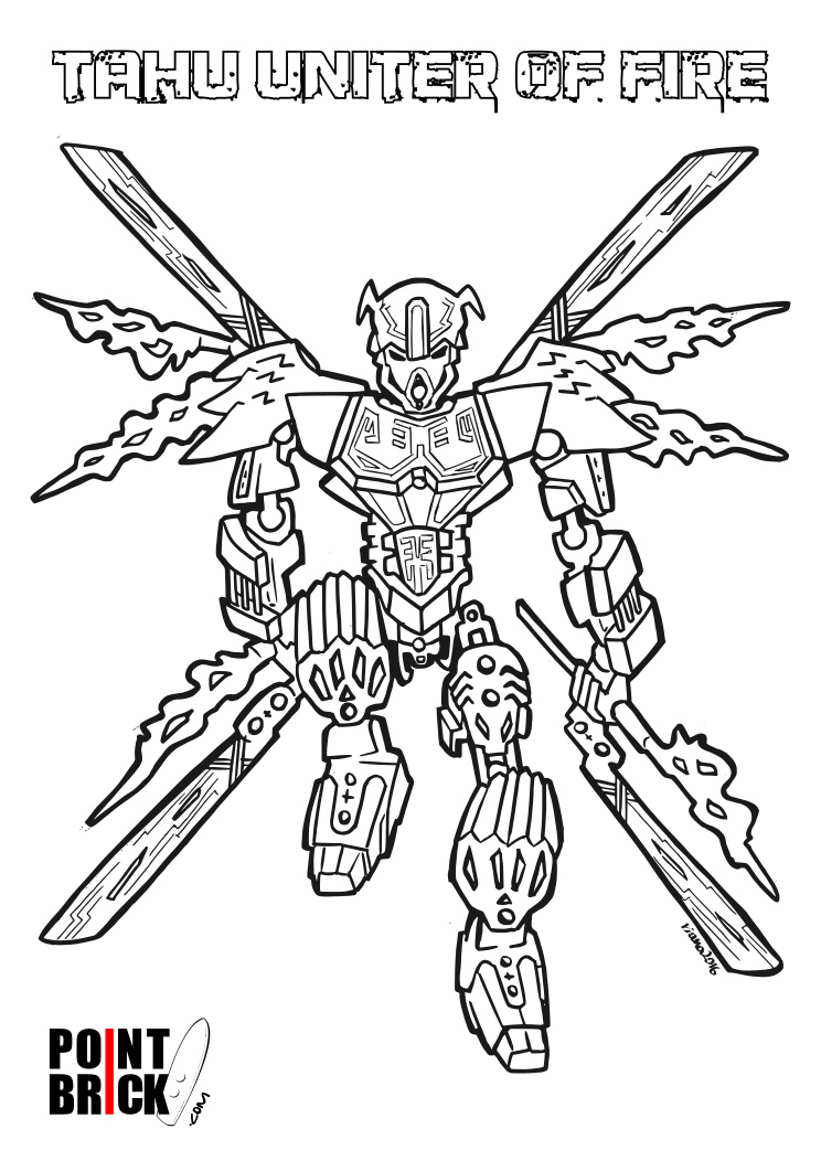 Lego Bionicle 2015 Coloring Sheets Coloring Pages 2015 Coloring Page