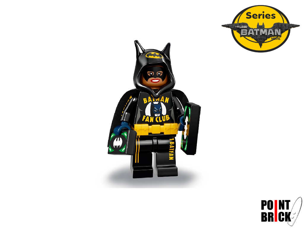 Dettaglio del set LEGO Minifigures - 7102011 Bat Merch Batgirl