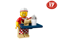 LEGO 7101806 - Venditore di hot dog