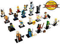 LEGO 71019 - Collezione Completa THE LEGO NINJAGO MOVIE
