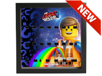 LEGO 7124960 - Minifigures Display Frame THE LEGO MOVIE 2 Sweet Mayhem - Nero