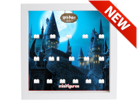LEGO 7124969 - Minifigures Display Frame Serie Harry Potter - Hogwarts Bianco