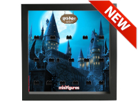 LEGO 7124970 - Minifigures Display Frame Serie Harry Potter - Voldemort Nero